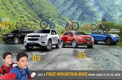 Chevrolet PH promo