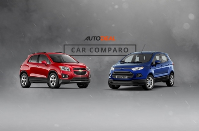 Ford EcoSport and Chevrolet Trax car comparo