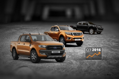 Interest in lifestyle pickup trucks grows in Q3 2016