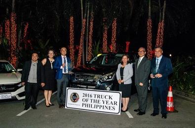 Isuzu D-MAX 2016 Truck of the Year - Philippines