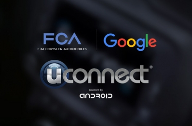 Fiat Chrysler to demo Uconnect system, powered by Google