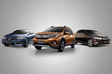 Honda marks its highest sales record in 2016