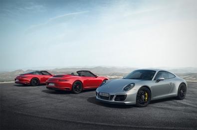 Porsche introduces a new GTS line of 911.