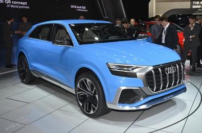 Audi introduces Q8 concept as basis for future SUVs.