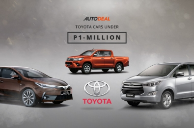 toyota under 1 million