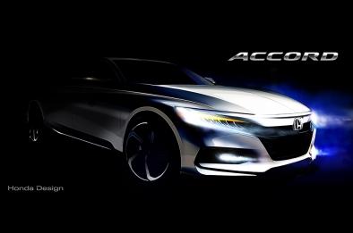 Honda Accord Sketch