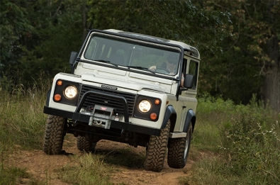 land rover defender experience