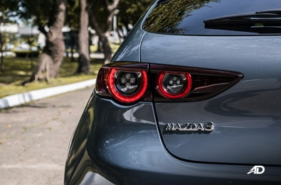 Mazda3 Sportbasck rear badge and taillight