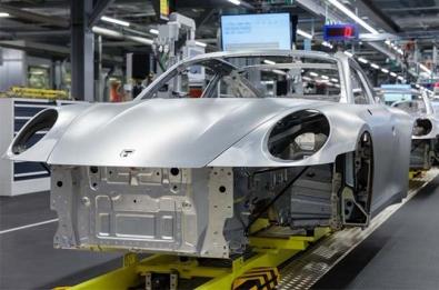 Porsche factory temporary closure