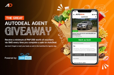 The Great AutoDeal Agent Giveaway.