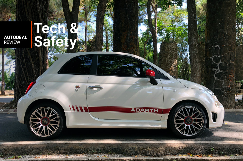 2019 Abarth 595 Technology & Safety