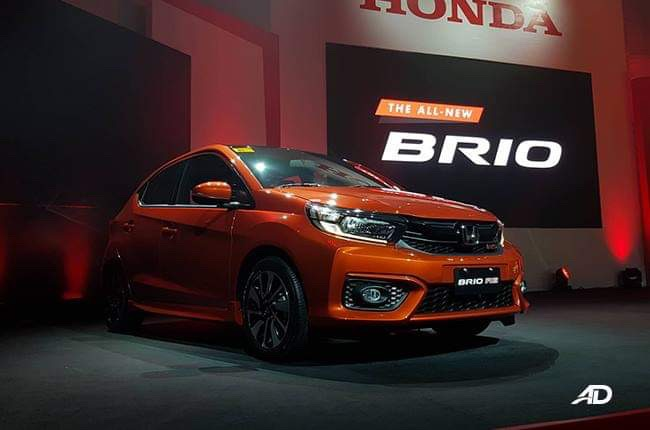 2019 Honda Brio makes PH debut with handsome looks, sporty RS variant