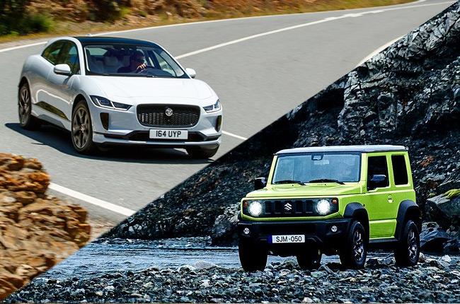 Jaguar I-Pace, Suzuki Jimny headline winners of 2019 World Car Awards