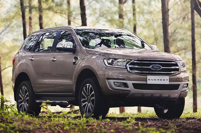 2020 Ford Everest
