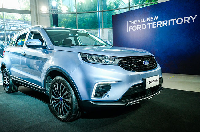 The 2021 Ford Territory is officially on sale in the Philippines