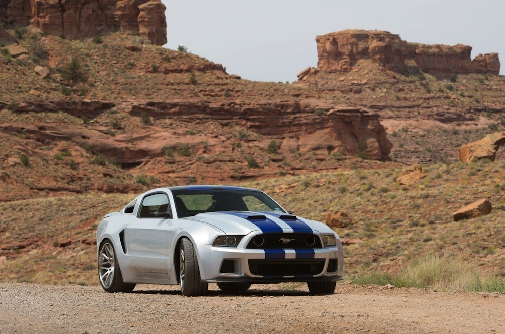 'Need For Speed' Pays Homage to Ford Mustang with Real Stunts.