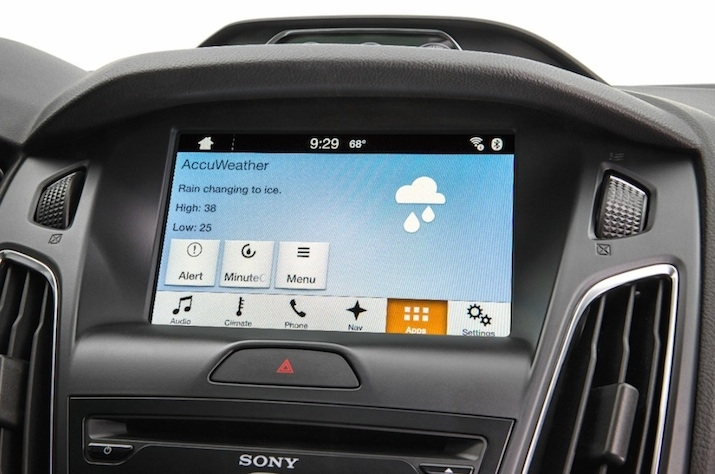 Ford to unveil AccuWeather app in Las Vegas.