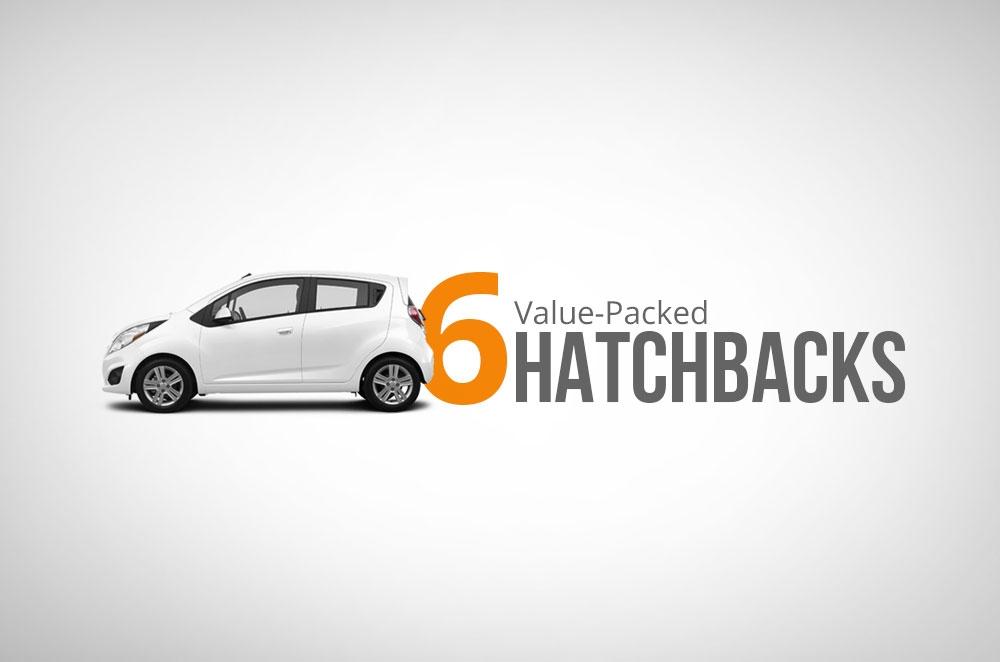 6 value-packed hatchbacks for P600K or less