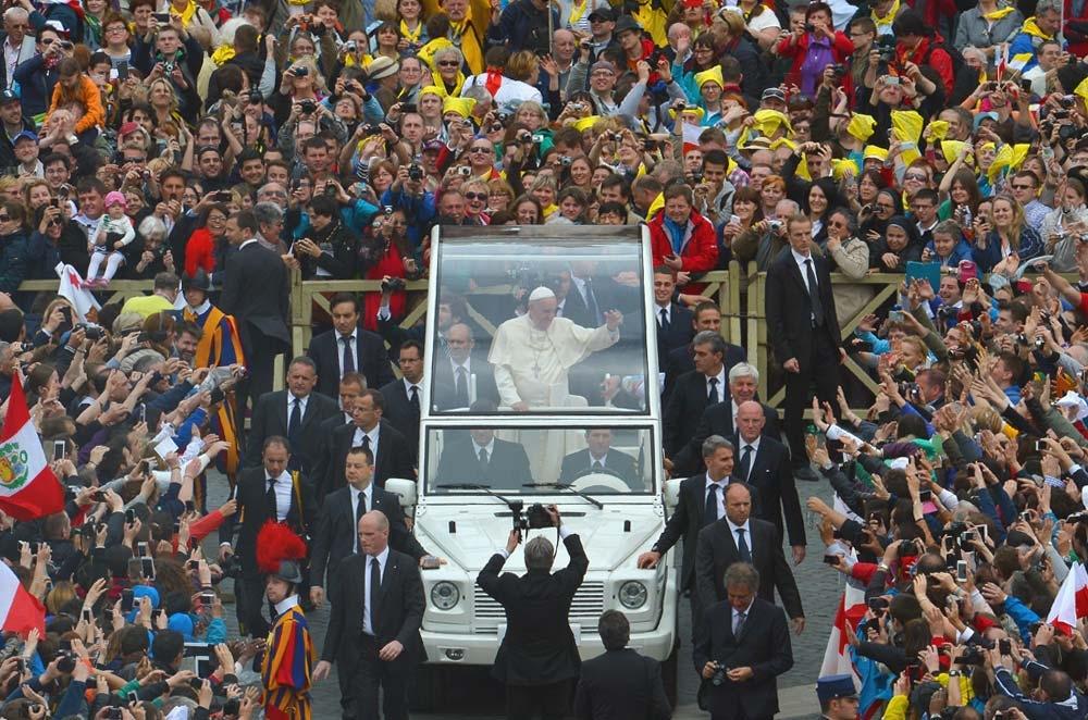Favorite Rides of the Pontiff.