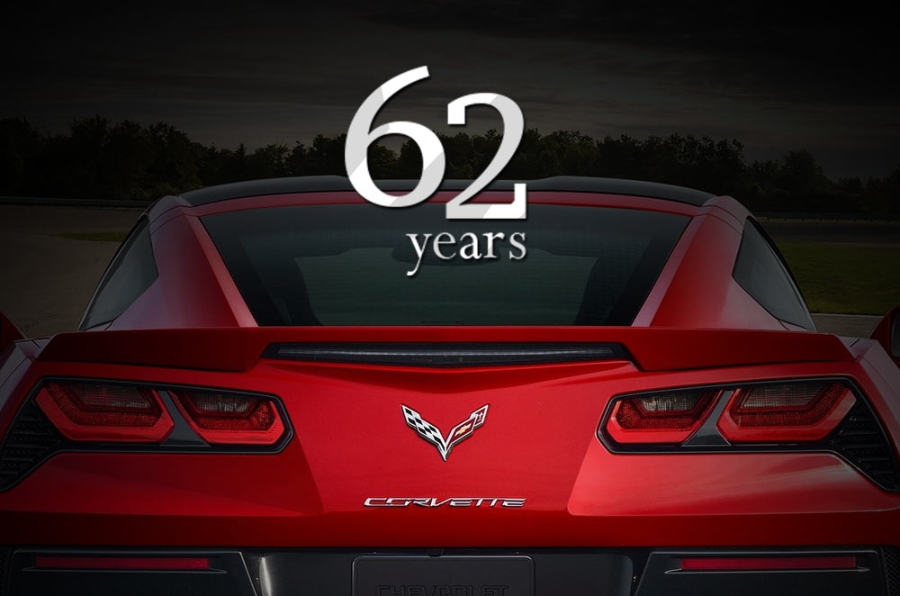The Chevrolet Corvette at 62.