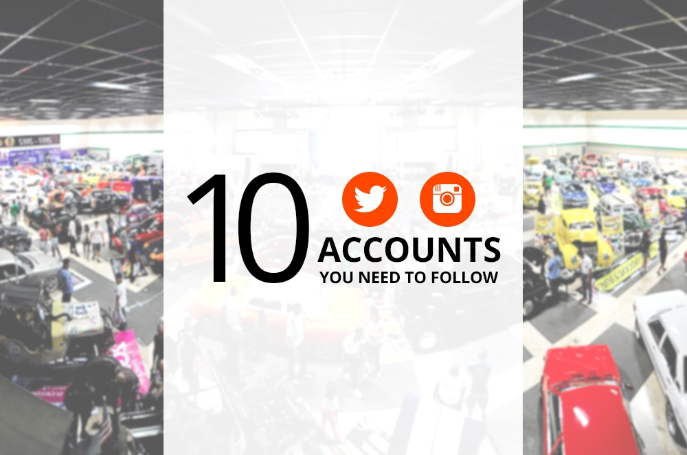 10 Philippine Motoring Twitter and Instagram accounts you need to be following