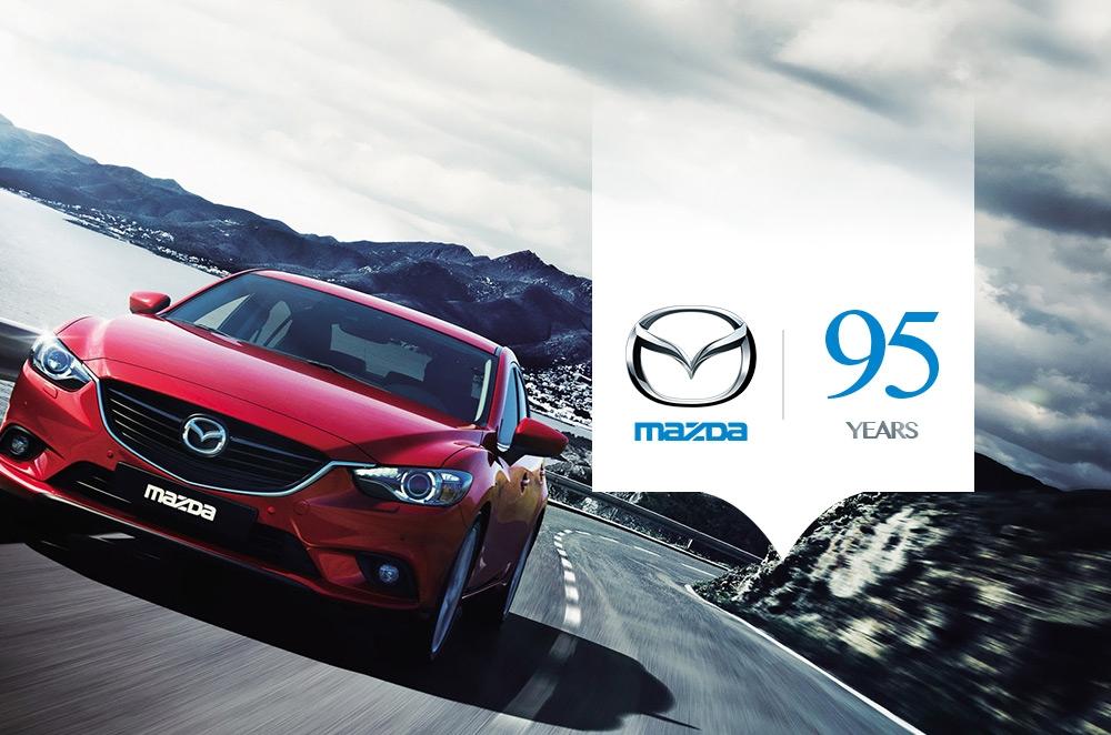 Celebrating Mazda's 95th Anniversary. Zoom-Zoom!