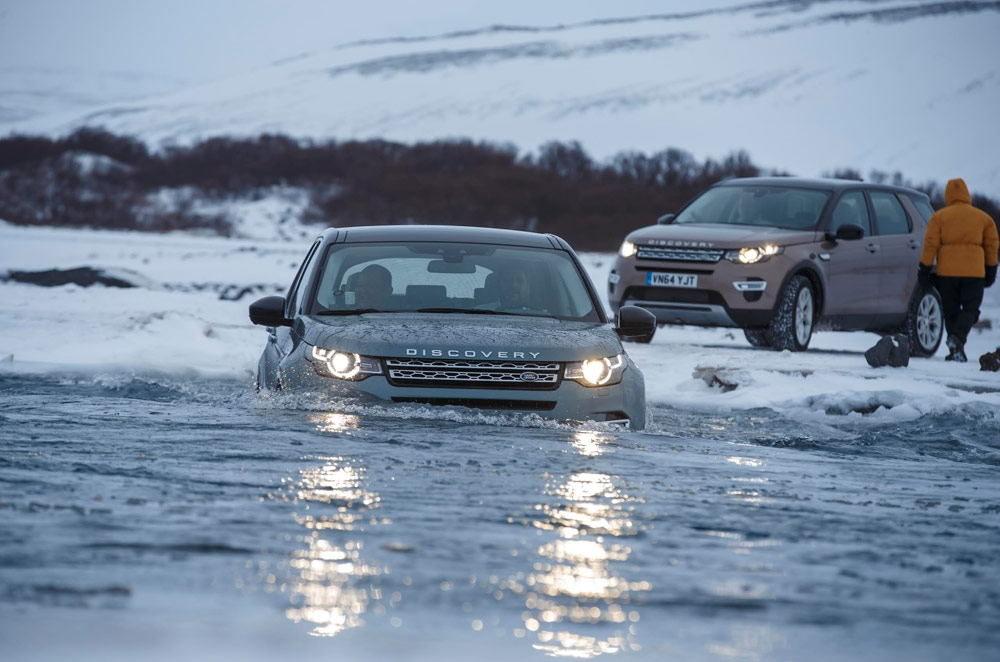Land Rover breaks new ice with the Discovery Sport
