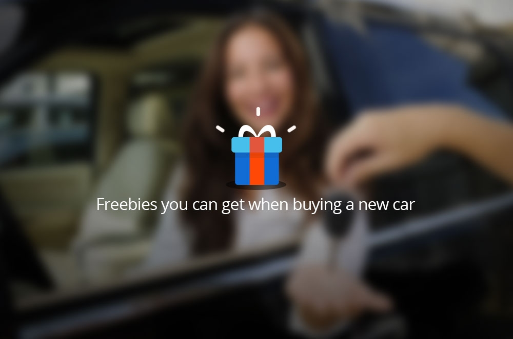 8 freebies you can get when buying a new car