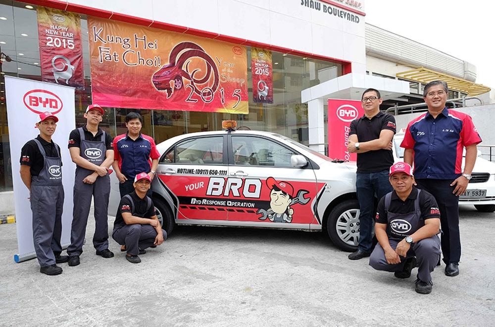BYD unveils 5-STAR Customer Service Program
