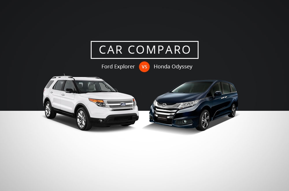 Car Comparo: Which executive 7-seater should you buy, Honda Odyssey or Ford Explorer?