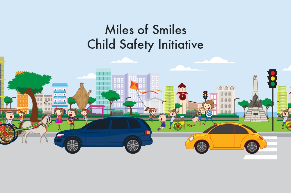"MIAS 2015: Volkswagen Ph takes ""Miles for Smiles"" safety initiative for children"