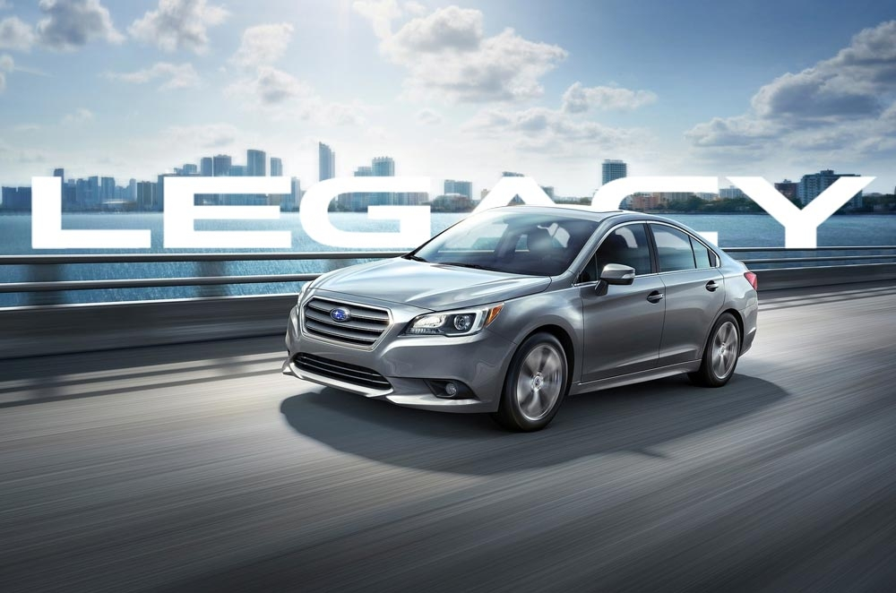 MIAS 2015: Subaru brings in 6th gen Legacy with 4- and 6- cyclinders