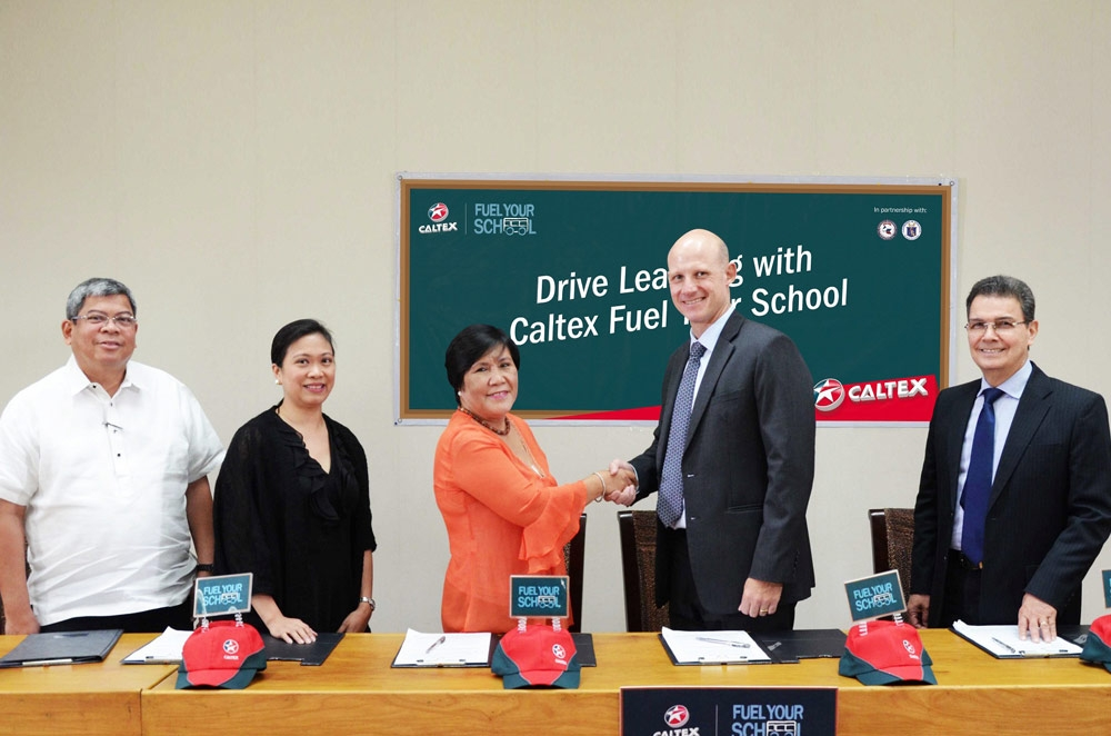 Caltex helps fund a school every time you refuel