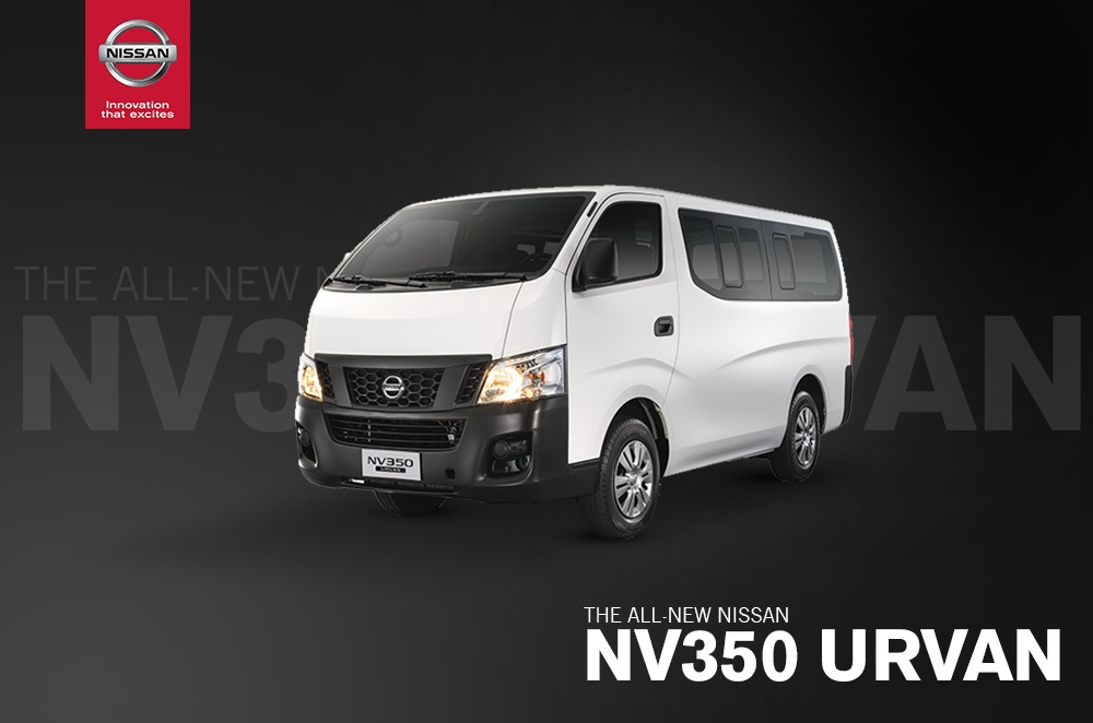 Nissan launches all-new NV350 Urvan in 15- and 18-seat versions