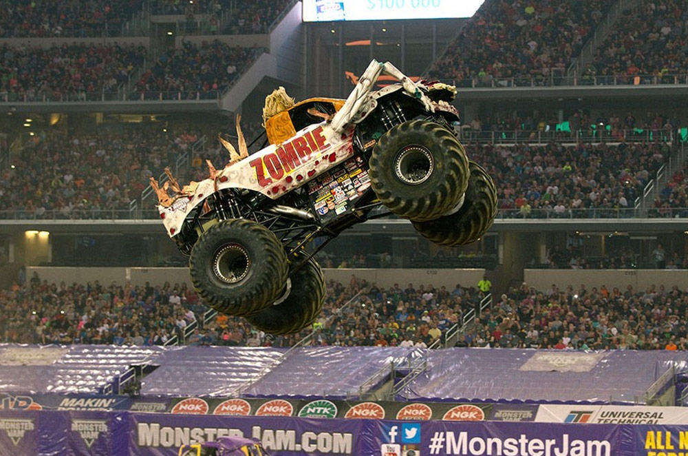 Monster Jam will bring monster trucks to the MOA Arena on June 21