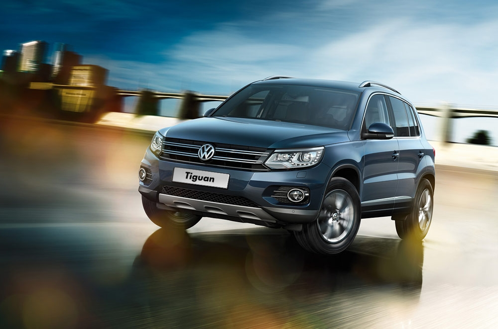 The Volkswagen Tiguan is the compact crossover with upscale, German character