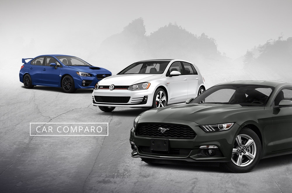 Car Comparo: Which is the best performance car for P2.5-million, Mustang, WRX STI, or Golf GTI?