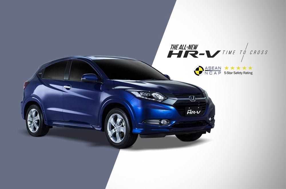Honda's all-new HR-V receives a 5-star ASEAN NCAP rating