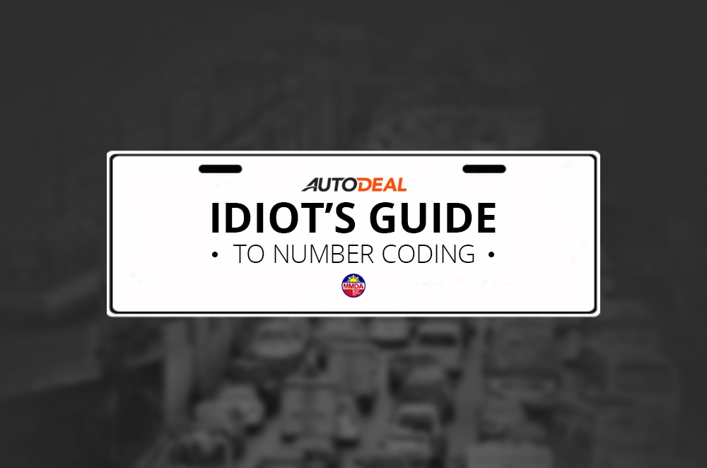 The idiot's Guide to MMDA's Unified Vehicular Volume Reduction Program aka number coding