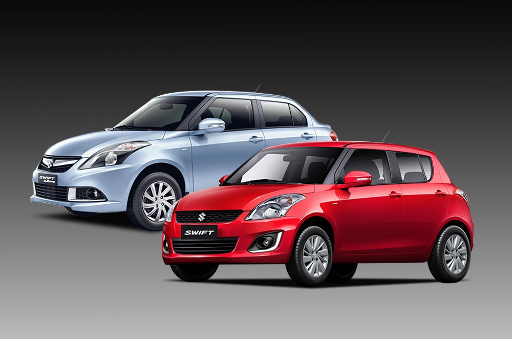 Suzuki PH released all-new Swift Dzire and upgrades the Swift 1.2L