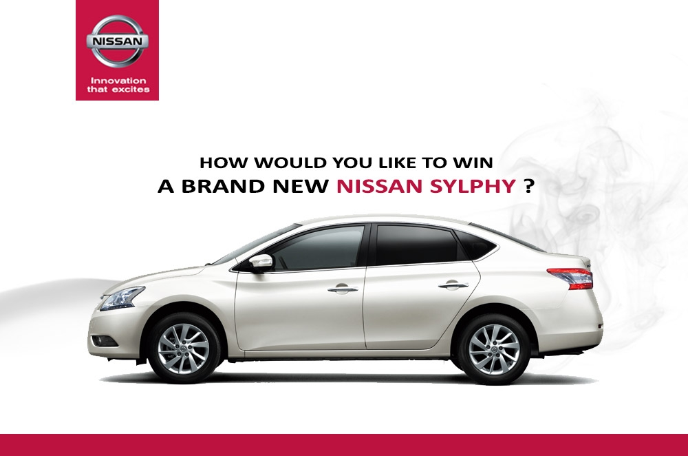 Nissan's new Sylphy Transformation promo could win you a brand new car