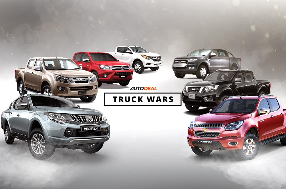 Truck Wars Which Is The Most Popular Pickup Truck In