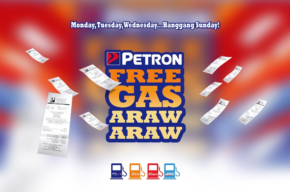 Petron gives you a chance to win free gas everyday