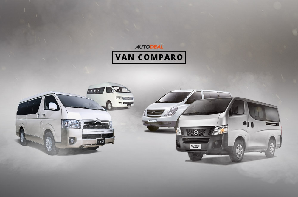 3 best-value vans under P1.4-million for business, travel, or leisure