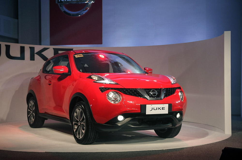 The Nissan Juke is a quirky-looking compact crossover that sells for P980,000