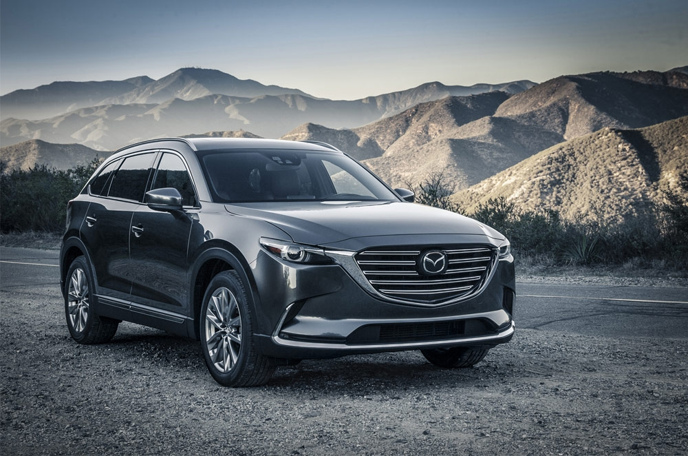 Mazda debuts all-new CX-9 at the 2015 Los Angeles Auto Show