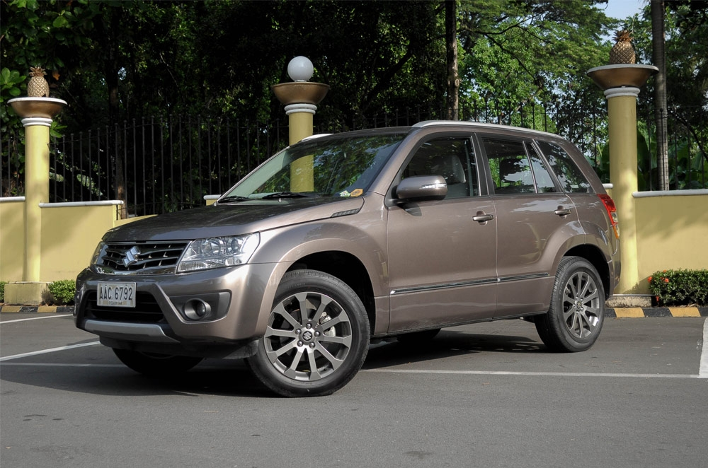 We take the updated Suzuki Grand Vitara out for a spin