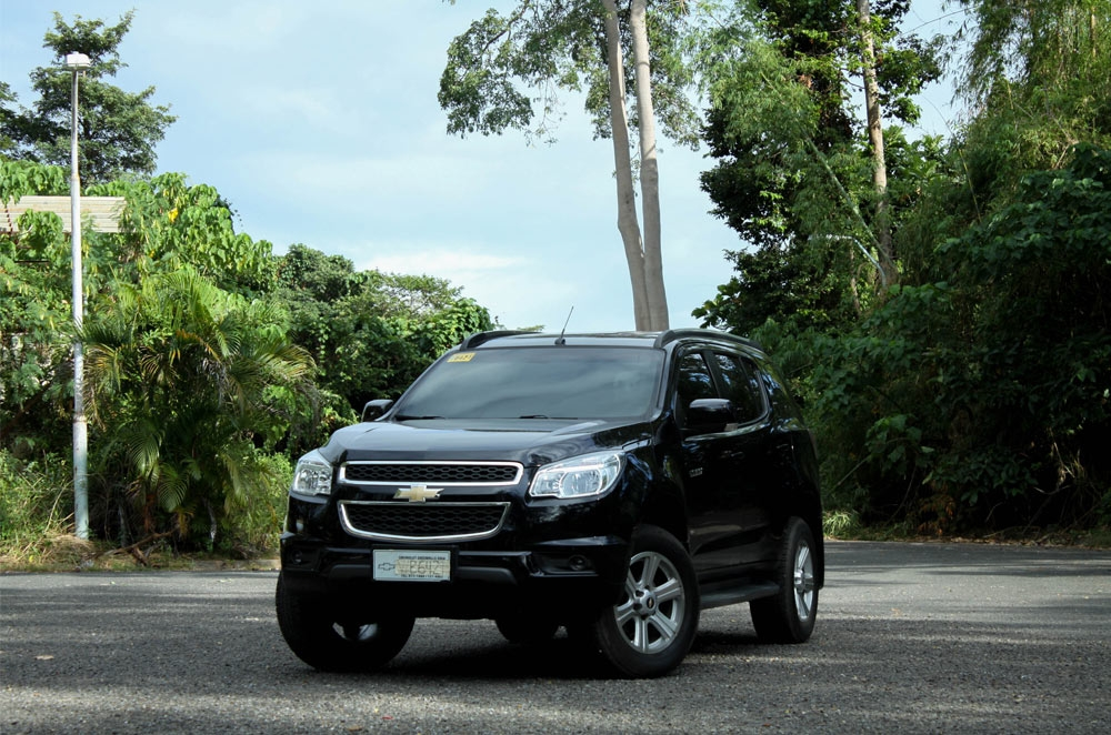 We took the Chevrolet Trailblazer for a test drive on the paved road