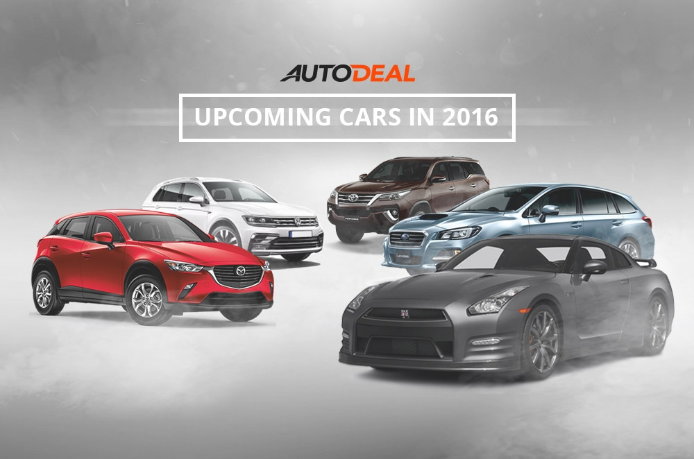 10 new cars that will make 2016 a year to look forward to