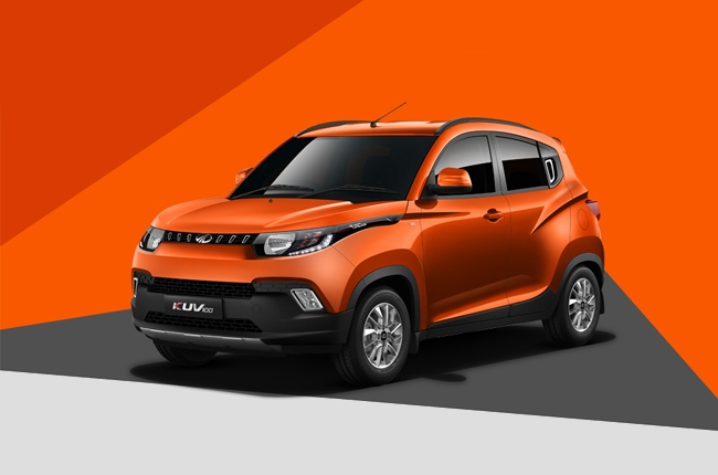 Mahindra unveils the KUV100 – the tiniest SUV in their model range